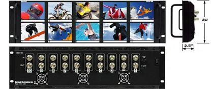 Obrázek V-R35P-SDI 3.5'X10 LCD Rack Mt. w/SDI Loop Thru