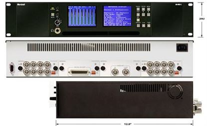 Obrázek AR-DM2-L 16 Channel Digital Audio Monitor-2RU Mainframe with Dual High-Resolution Displays