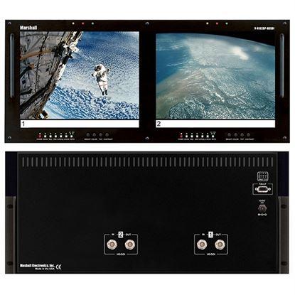 Obrázek V-R102DP-HDSDI Dual 10.4' LCD Rack Mount Panel with HDSDI Input