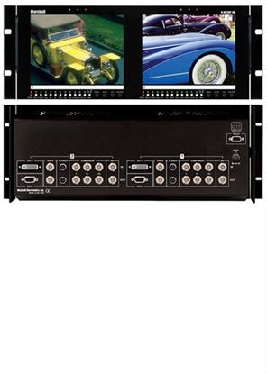 Obrázek V-R82DP-SD Dual 8.4' LCD Rack Mount Panel all inputs with SDI