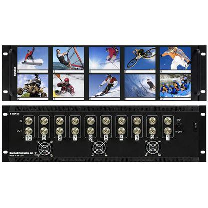 Obrázek V-R35P 3.5'X10 LCD Rack Mt. NTSC/PAL