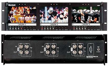 Obrázek V-R63P Triple 5.8' LCD Rack Mount Panel