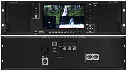 Obrázek OR-701A Single 7' Full Featured 3RU Rack Mount Monitor with Audio Speakers and Balanced +4dBu line outputs