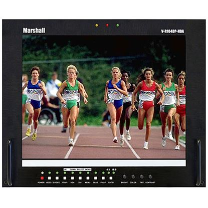 Obrázek V-R104DP-HDA Stand alone 10.4' LCD Monitor with HDA + DVI/VGA inputs