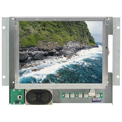 Obrázek V-LCD10.4-P 10.4' active matrix color LCD panel with wall mounting & audio