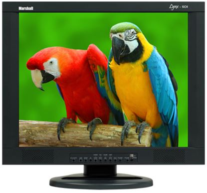 Obrázek M-LYNX-19-CM 19' A/V LCD Monitor with 2x Composite, Component, S-Video, VGA, DVI, and 2x Audio inputs with ceiling mount