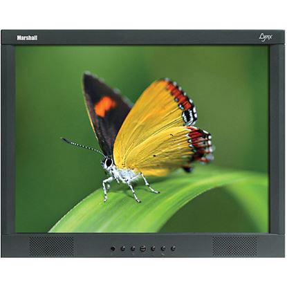 Obrázek M-LYNX-17-WM 17' A/V LCD Monitor with 2x Composite, Component, S-Video, VGA, DVI, and 2x Audio inputs with wall mount