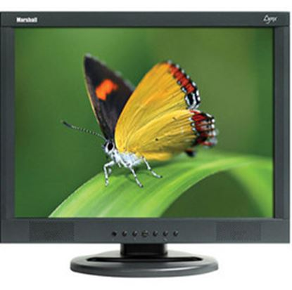 Obrázek M-LYNX-17 17' A/V LCD Monitor with 2x Composite, Component, S-Video, VGA, DVI, and 2x Audio inputs