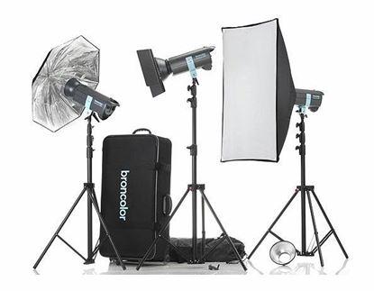 Obrázek Sestava Minicom Pro Kit - Ateliérová záblesková světla