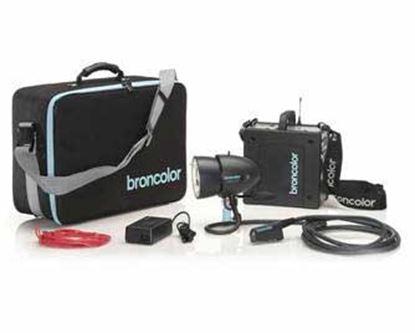 Obrázek Broncolor Mobil A2L Travel Kit (generátor bateriový vč. Lithium baterie)