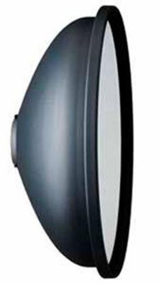 Obrázek Reflektor Beuty Dish vč. textilního difuzoru P-Soft pro zábleskové lampy Minicom, Minipuls, Litos, Pulso G, Unilite, Picolite, Mobilite