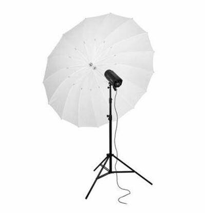 Obrázek BIG deštník bílý odrazný 185 cm