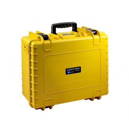 Obrázek Kufr typ 6000 žlutý prázdný