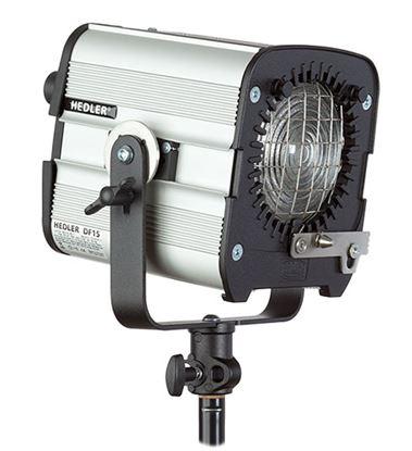 Obrázek Hedler DF 15 HMI - Metal halogenová lampa vč. vestavěné Fresnelové čočky